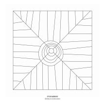 """STICKitGREEK_15"" Modern design of an eye that protects from the evil, made by Elias Dekoulakos / Μοντέρνο σχέδιο με ένα μάτι που προστατεύει από το κακό, του Ηλία Δεκουλάκου."
